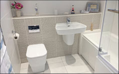 Bathroom installations example for East Kilbride